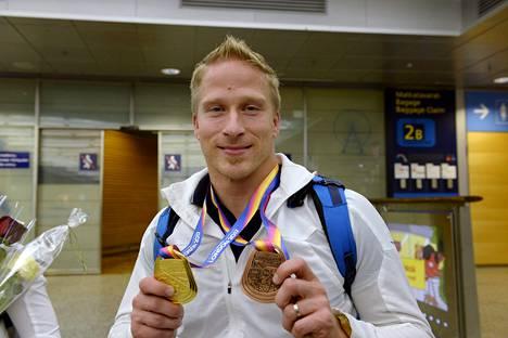 Leo-Pekka Tähti kuvaili Lontoon MM-kisoja napakympiksi.