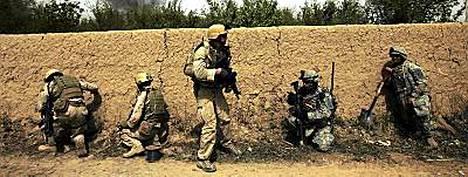 USA:n joukkoja Irakissa