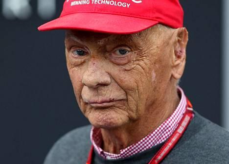 Monet F1-fanit muistavat Niki Laudan tämän näköisenä. Kuva on vuodelta 2018.