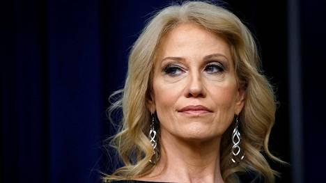 Kellyanne Conway on yksi presidentin tärkeimmistä neuvonantajista.