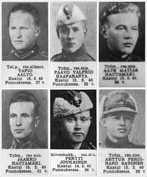 Kannustamo.net-blogissa on julkaistu sotavainajien valokuvat.