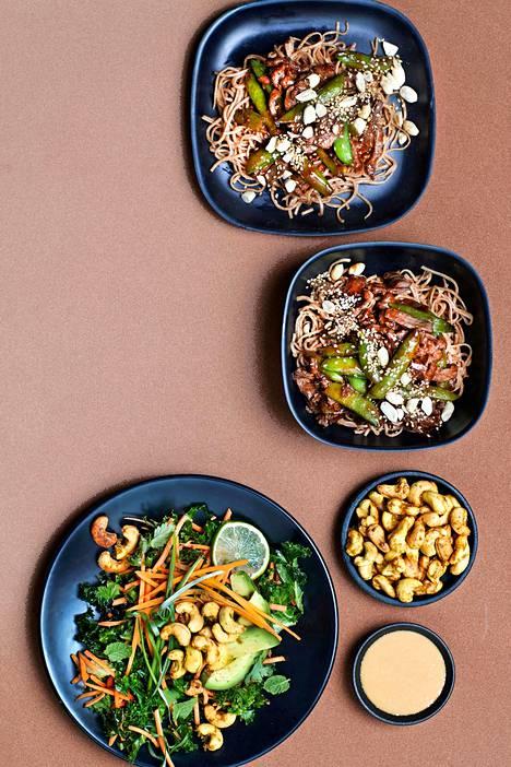 Vartissa valmistuva herkkuvokki saa makua maapähkinöistä ja seesaminsiemenistä.