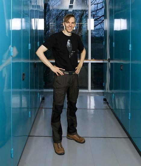 Evoluutiopsykologian dosentti Markus J. Rantala