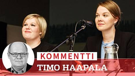 Oulun puoleukokouksessa pitäisi syyskun alussa valita, johtaako puoluetta Annika Saarikko vai Katri Kulmuni. Koko puoluekokous on kuitenkin vaakalaudalla koronan toisen aallon takia.