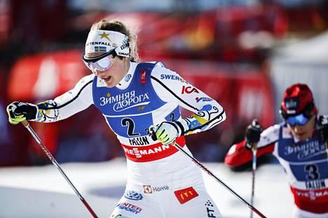 Stina Nilsson halusi jatkaa yhteistyötä Rikard Gripin kanssa.