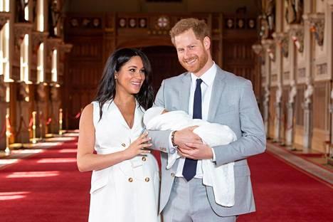 Meghan ja Harry saivat toukokuussa esikoispoikansa Archien.