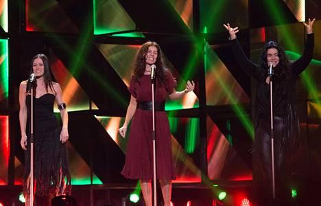 Helmikuussa 2016 Las Ketchup esiintyi yllättäen Melodifestivalenissa.