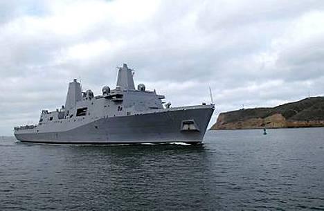 Törmäyksen toinen osapuoli on maihinnousualus USS New Orleans, johon mahtuu noin 1 100 sotilasta.