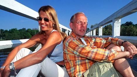 Ristomatti Ratia ja Anu Saagim tapasivat 1990. Pari avioitui 1994.