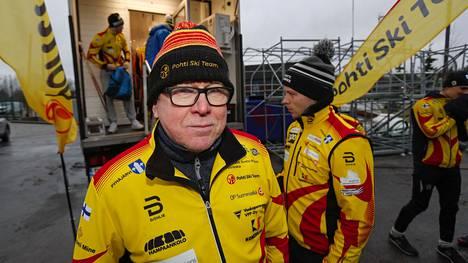 Kauko Tikkasen Pohti Ski Team on menestynyt hyvin Suomen cupissa ja nyt myös maailmancupissa.