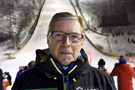 Markku Haapasalmi on Hiihtoliiton puheenjohtaja.