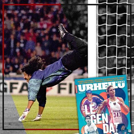 Urheilulehti kertoi Rene Higuitan tarinan toukokuussa 2020.
