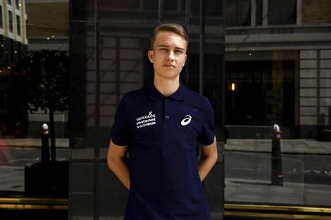 Simo Lipsanen on siirtynyt Nuijamaalta Lontooseen.