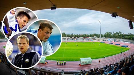 Oululaislähtöiset Ville Nylund, Mika Nurmela ja Antti Niemi pelasivat maaottelussa Saksaa vastaan vuonna 2001. Viime kaudella koko Veikkausliigassa nähtiin yhteensä kolme oululaista pelaajaa.