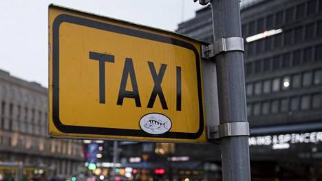 Taksitolppa kuvituskuvassa.