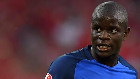 N'Golo Kante pelasi Ranskan maajoukkueessa juuri päättyneissä EM-kisoissa.