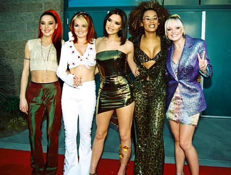 Spice Girls vuonna 1998. Mel C kuvassa vasemmalla.
