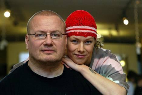 Tony ja Katja Halme vuonna 2004.