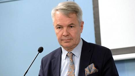Ulkoministeri Pekka Haavisto (vihr).