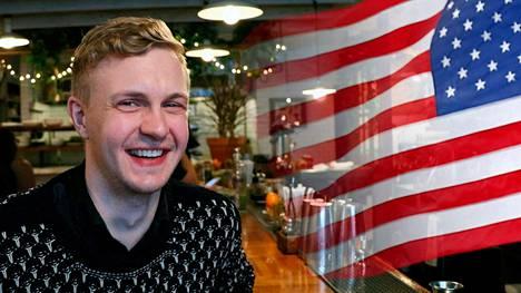 Kalle Mattila on viihtynyt New Yorkissa jo neljä vuotta.