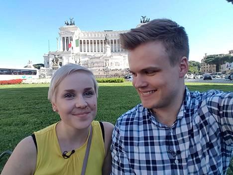 Rosa ja Eetu suuntasivat häämatkalle Roomaan. Siellä parin kemiasta paljastui esiin uusia puolia.