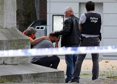 Terroriteoksi epäilty veriteko on järkyttänyt Belgiassa asuvia.