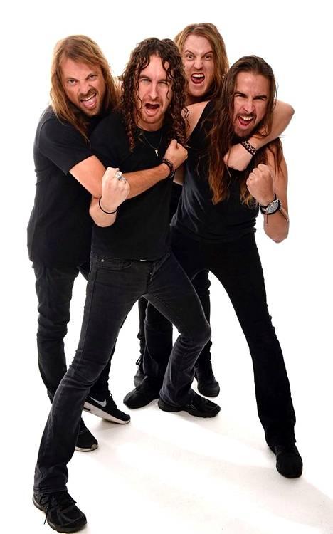Australialainen hard rock -yhtye Airbourne on toinen Qstockin kuuma kiinnitys.