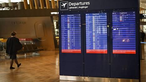 Helsinki-Vantaalla matkustajamäärien palautuminen on ollut hitaampaa kuin muualla Euroopassa.