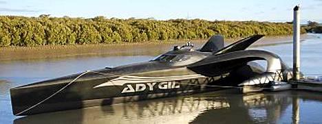 Ady Gil -alus on yksi aktivistien käyttämistä uusista veneistä