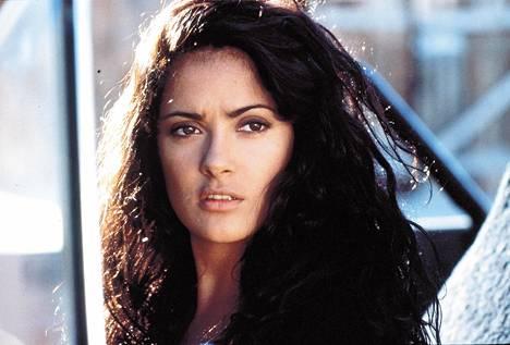 Salma Hayek 29-vuotiaana vuonna 1995.