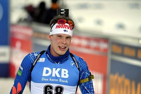 Tuomas Harjula avasi kauden erinomaisesti Kontiolahella.