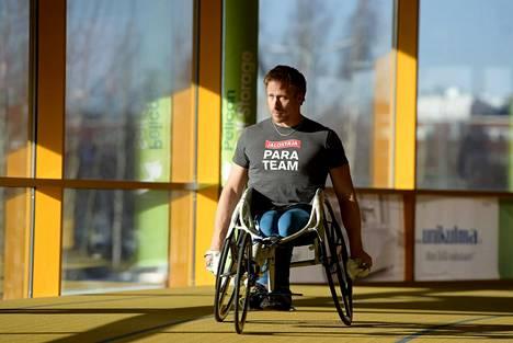 Leo-Pekka Tähti on nelinkertainen paralymppiavoittaja.