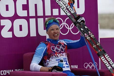 Iivo Niskasen tavoitteena oli nousta Sotshin olympialaisten 15 km perinteisen hiihdon jälkeen palkintopallille raikkaana.