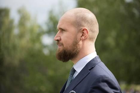 Aalto kesäkuussa vuosi puheenjohtajapestin aloittamisen jälkeen.