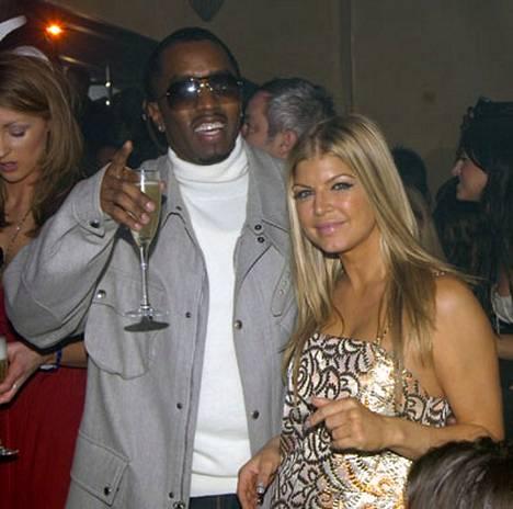 Diddy ja Fergie viihtyivät Lontoon yössä.