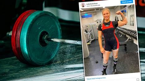 Isabell Adolfsen ihmetteli lajinsa dopingtestausta NRK:n haastattelussa.