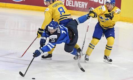 Mikko Rantanen nosti tasoaan MM-välierässä.