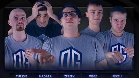 """Peetu """"Peksu"""" Väätänen on yksi OG.Seed-joukkueen pelaajista."""