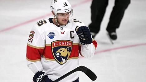 Florida Panthers saattaa joutua kauppaamaan suomalaistähtensä Aleksander Barkovin.