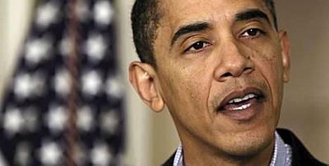 Presidentti Barack Obama onnitteli virkansa jättävää Virginian kuvernööriä erikoisella tavalla.