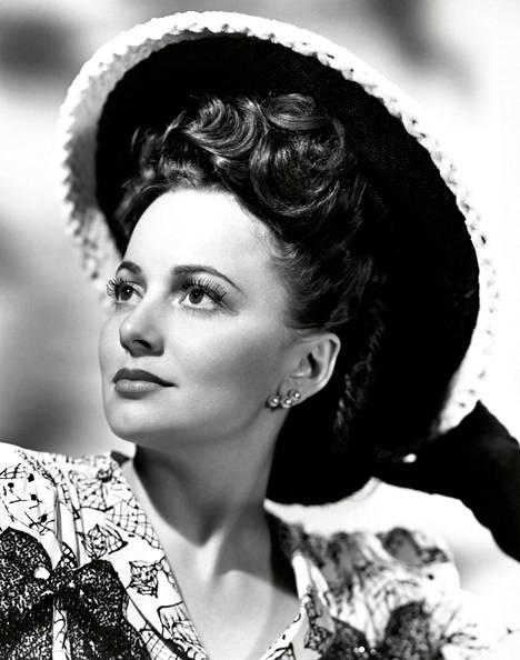 Oscar-palkittu näyttelijä Olivia de Havilland vuonna 1940