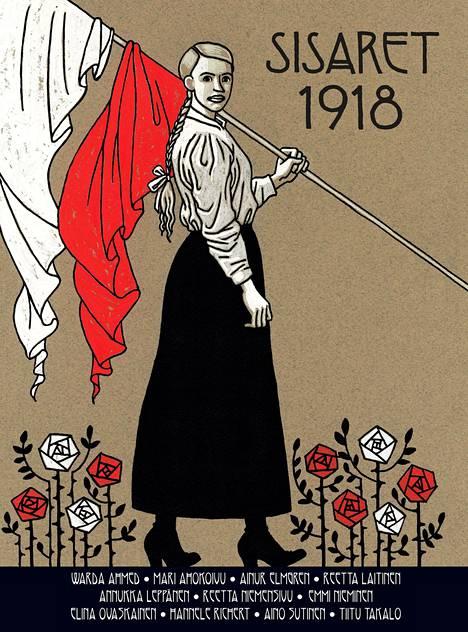 Sisällissodan naiset saivat oman sarjakuvakirjan.