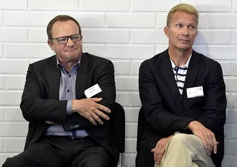 Ilkka Herlin ja Mika Anttonen tunnetaan myös kiinnostuksestaan ympäristöasioihin.