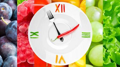 Pitkät ateriavälit voivat aiheuttaa mässäilyä.