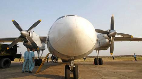 Etsintäkoneita nousi ilmaan Vietnamin Ho Chi Minh Citysta.