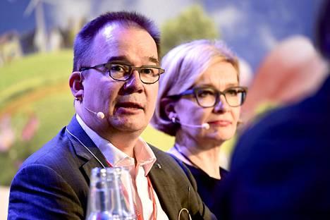 Antti Pelttarin ohella keskusteluun osallistui myös Paula Risikko.