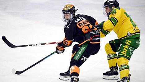 KooKoo ja Ilves ottavat mittaa toisistaan Tampereella.