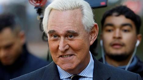 Roger Stone on Donald Trumpin pitkäaikainen ystävä ja entinen neuvonantaja.
