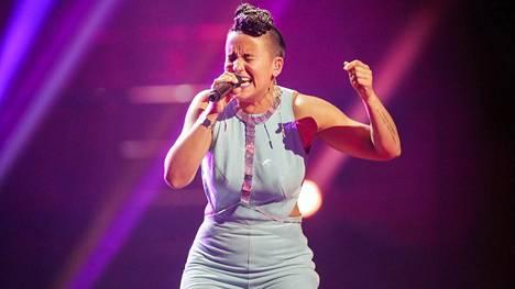 Sandhja esiintyi Eurovision-laulukilpailun ensimmäisessä semifinaalissa tiistaina ensimmäisenä.