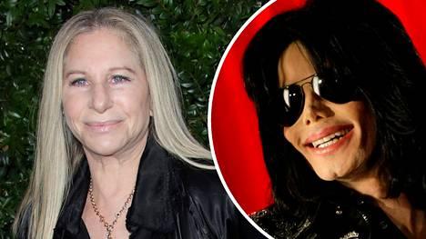 Barbra Streisand laulaja-näyttelijän kommentit Michael Jackson -dokumentista nostattivat valtaisan raivon.